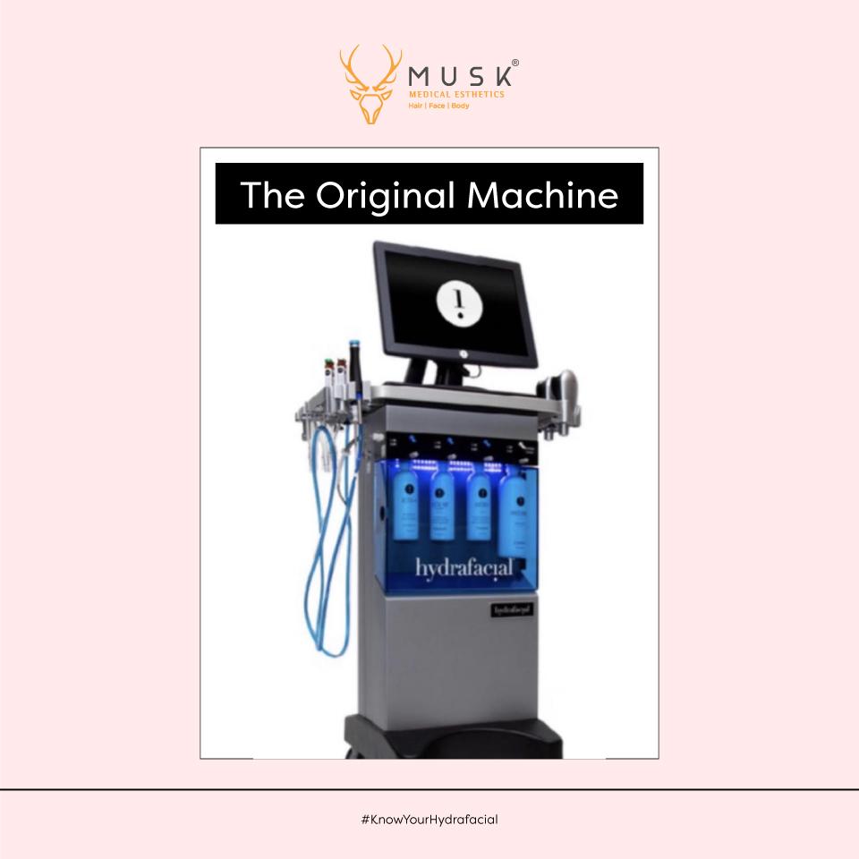 The Original Machine of Hydrafacial at Muskclinic